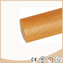 Flooring accessories Laminated Quarter Round moulding