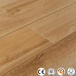 Laminate flooring 12mm with painted V Groove