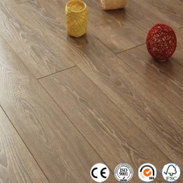 Distressed 12mm collection V groove laminate flooring