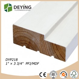 Finger Joint Pine Wooden Door Flat Jamb