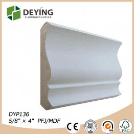 Primed Wooden Crown moulding
