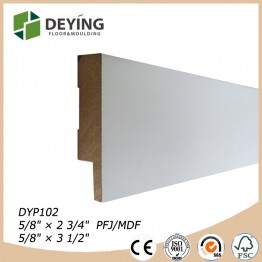 Decorative Pine skirting board / Baseboard trim molding