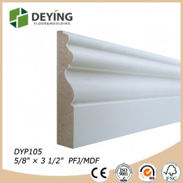 Primed Cheap Baseboard Moulding Price