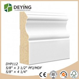 Decorative Modern Wooden Baseboard Moldings