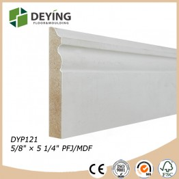 primed MDF / LDF baseboard mouldings / Crown mouldings / Casing mouldings