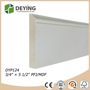 Primed Ultralight MDF Baseboard molding / Crown molding
