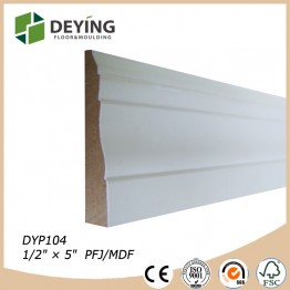 Decorative gesso primer wooden timber moulding