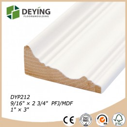 Primed Finger joint Pine Casing Moulding