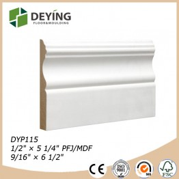 Primed Chinese Fir Baseboard Moulding