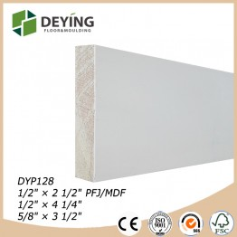 Finger jointed Wood Decorative Primed Pine Moulding
