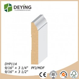 Wooden decoration flooring accessories baseboard molding