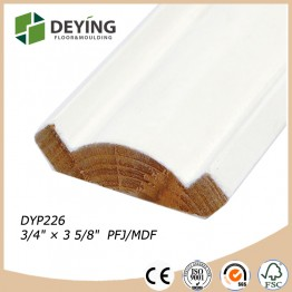Finger joint pine wholesale crown molding