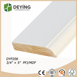 Wooden skirting / baseboard molding price