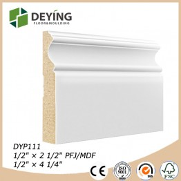MDF skirting board manufacture china