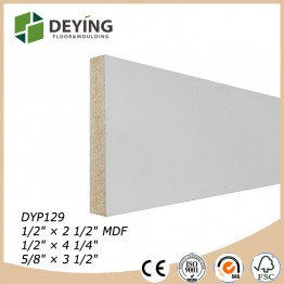 White primed MDF / LDF exterior door jamb moulding