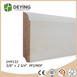 Flooring trim baseboard skirting board