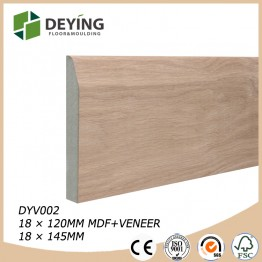 MDF Oak Veneer Skirting Board